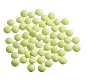 Mini Confetti Grasgroen Gelakt / Lentilles