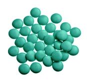 Mini Confetti Emeraldgroen Gelakt / Lentilles