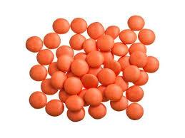 Confetti Oranje / Lentilles