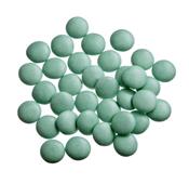 Mini Confetti Cactus Blauw Gelakt / Lentilles