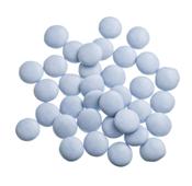 Mini Confetti Blauw Gelakt / Lentilles