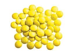 Mini Confetti Kanarie Gelakt / Lentilles